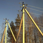Залізобетонні конструкції ліній електропередачі